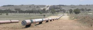 LNG Pipeline Construction